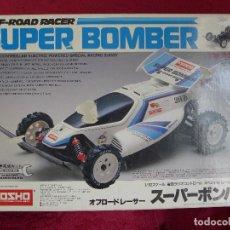 Radio Control: COCHE DE RADIOCONTROL KYOSHO SUPER BOMBER. Lote 221625605