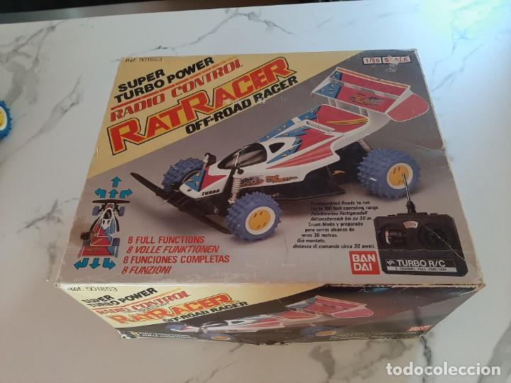 SUPER TURBO POWER RADIO CONTROL RAT RACER (Juguetes - Modelismo y Radiocontrol - Radiocontrol - Coches y Motos)