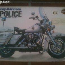 Radio Control: MAQUETA KIT HARLEY DAVIDSON POLICE ELECTRA GLIDE IMAI ESCALA 1/12, BOLSAS PRECINTADAS.. Lote 226170390