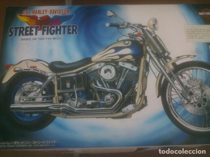 Radio Control: Maqueta Kit ART Harley Davidson IMAI escala 1/12, bolsas precintadas. - Foto 2 - 226171893