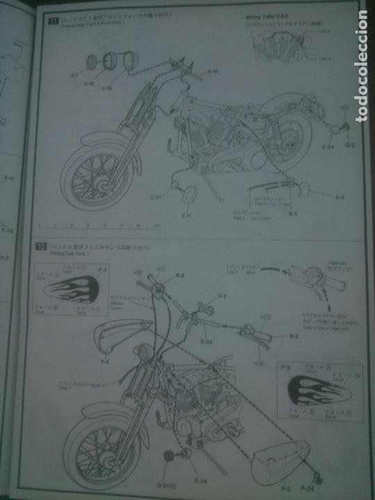 Radio Control: Maqueta Kit ART Harley Davidson IMAI escala 1/12, bolsas precintadas. - Foto 8 - 226171893
