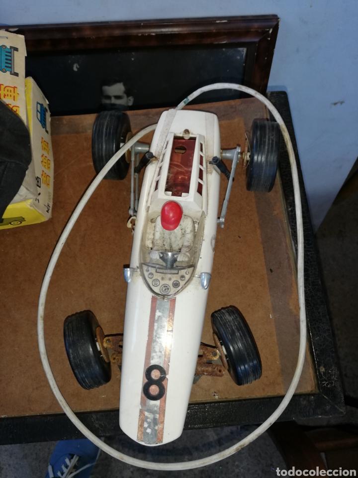 Radio Control: Antiguo Coche de Joustra..Francia.... Teledirigido .. . Falta el mando - Foto 6 - 229535800