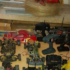 Radio Control: LOTE 5 COCHE RADIOCONTROL DE GASOLINA. Lote 230979265