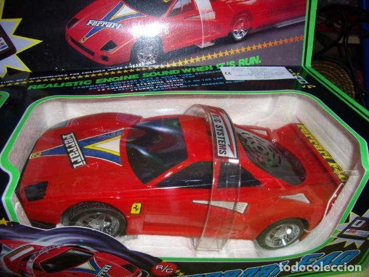 Radio Control: Ferrari F40 Radio Control, año 1990, acrobático, turbo, escala 1/15, Nuevo sin abrir - Foto 2 - 231613220