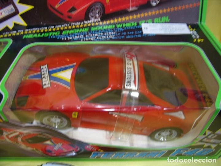 Radio Control: Ferrari F40 Radio Control, año 1990, acrobático, turbo, escala 1/15, Nuevo sin abrir - Foto 5 - 231613220
