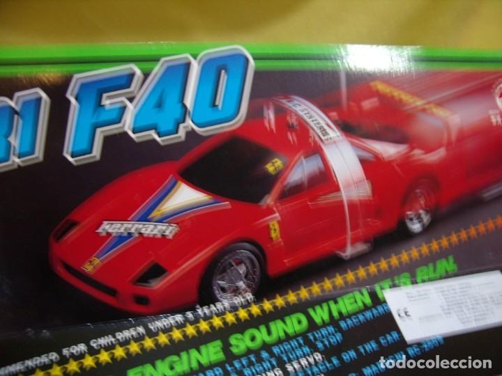 Radio Control: Ferrari F40 Radio Control, año 1990, acrobático, turbo, escala 1/15, Nuevo sin abrir - Foto 7 - 231613220