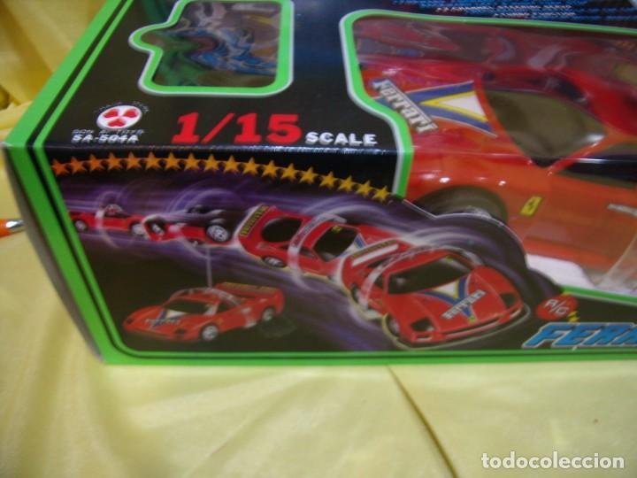 Radio Control: Ferrari F40 Radio Control, año 1990, acrobático, turbo, escala 1/15, Nuevo sin abrir - Foto 8 - 231613220