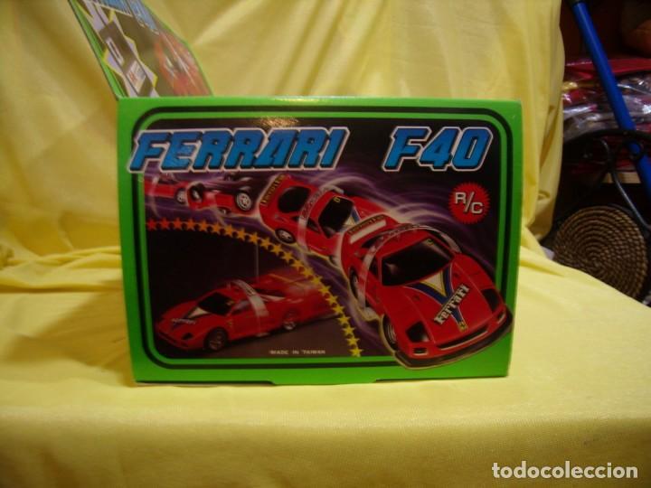 Radio Control: Ferrari F40 Radio Control, año 1990, acrobático, turbo, escala 1/15, Nuevo sin abrir - Foto 9 - 231613220
