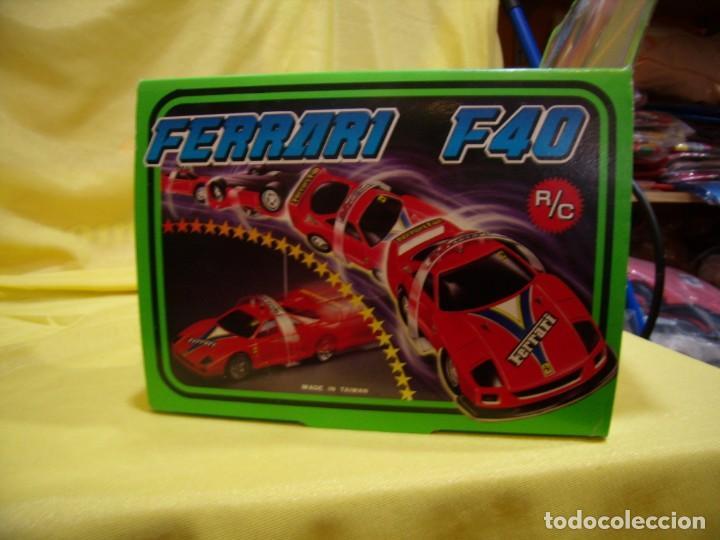 Radio Control: Ferrari F40 Radio Control, año 1990, acrobático, turbo, escala 1/15, Nuevo sin abrir - Foto 11 - 231613220