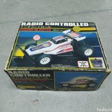 Rádio Controlo: COCHE TELEDIRIGIDO RADIO CONTROL DIGITCON BUGGY. AÑOS 80. Lote 232895300