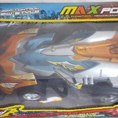 Radio Control: MAX POWER R/C SERIES SPEED RACING CAR 4WD POWER RADIO CONTROL, NUEVO EN SU CAJA. Lote 233136515