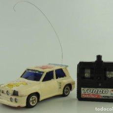 Rádio Controlo: ANTIGUO COCHE RADIO CONTROL RENAULT 5 MAXI TURBO RADIOCONTROL.SHINSEI AÑOS 80. Lote 235082820