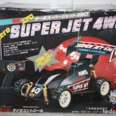 Rádio Controlo: COCHE AERO SUPER JET 4WD. MADE IN JAPAN.. Lote 235325645