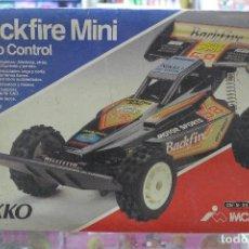 Radio Control: COCHE DE RADIO CONTROL NIKKO BACKFIRE MINI. Lote 235857000