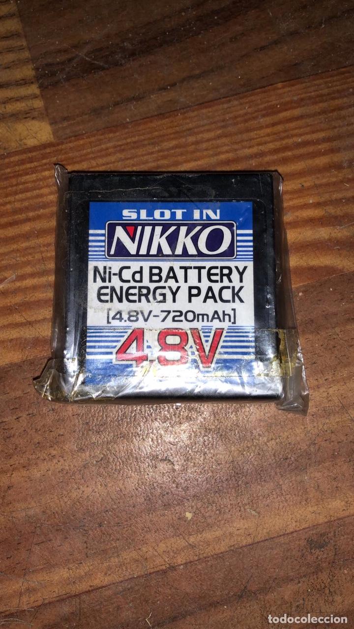 BATERIA NIKKO NI-CD ENERGY PACK 4,8V 720MAH (Juguetes - Modelismo y Radiocontrol - Radiocontrol - Coches y Motos)