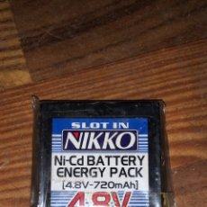 Radio Control: BATERIA NIKKO NI-CD ENERGY PACK 4,8V 720MAH. Lote 236915080