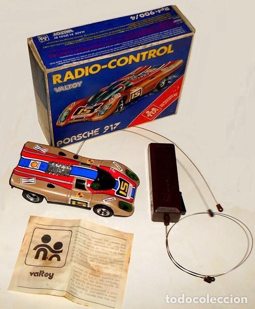 PORSCHE 917. RADIO-CONTROL. CAJA + MANDO + FOLLETO DE EPOCA. VALTOY. MADE IN SPAIN. JUEGO. JUGUETE. (Juguetes - Modelismo y Radiocontrol - Radiocontrol - Coches y Motos)