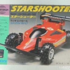 Radio Control: COCHE RADIOCONTROL STARSHOOTER JAPÓN , AÑOS 80. Lote 240230760