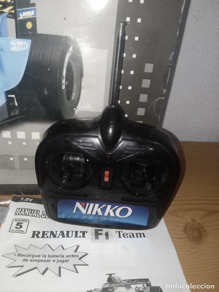 Radio Control: COCHE DE CARRERAS DE FERNANDO ALONSO RENAULT F1 TEAM. NIKKO. ESC 1:10 - Foto 5 - 243114120
