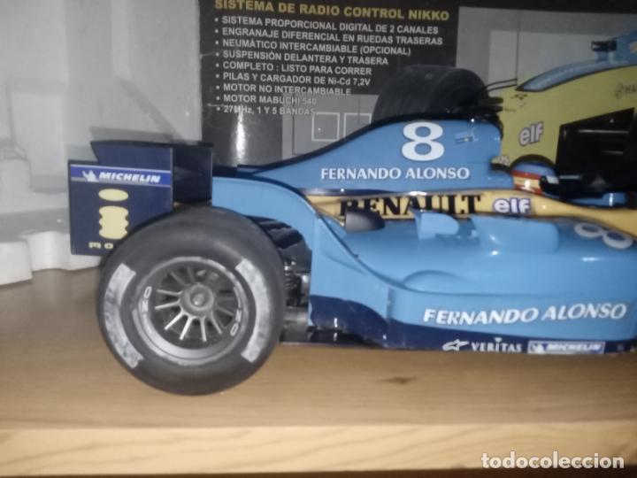 Radio Control: COCHE DE CARRERAS DE FERNANDO ALONSO RENAULT F1 TEAM. NIKKO. ESC 1:10 - Foto 12 - 243114120