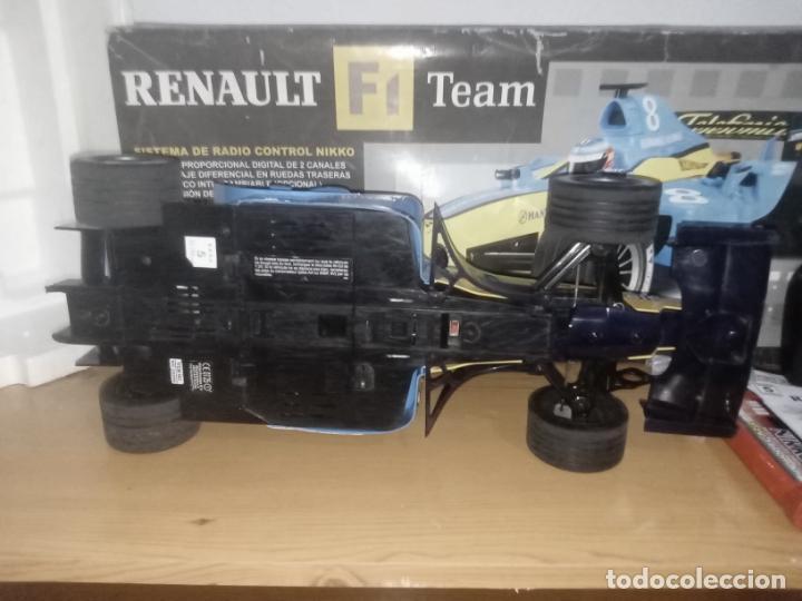 Radio Control: COCHE DE CARRERAS DE FERNANDO ALONSO RENAULT F1 TEAM. NIKKO. ESC 1:10 - Foto 13 - 243114120