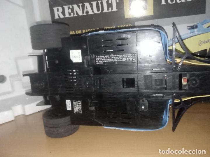 Radio Control: COCHE DE CARRERAS DE FERNANDO ALONSO RENAULT F1 TEAM. NIKKO. ESC 1:10 - Foto 14 - 243114120
