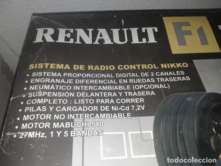 Radio Control: COCHE DE CARRERAS DE FERNANDO ALONSO RENAULT F1 TEAM. NIKKO. ESC 1:10 - Foto 22 - 243114120