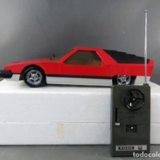 Radio Control: COCHE RADIOCONTROL CAR WERNER MACH 1 MADE IN SPAIN AÑOS 70 CON CAJA. Lote 245234770