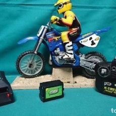 Radio Control: MOTO RADIO CONTROL TYCO TMH CHAPARRAL. Lote 245561325