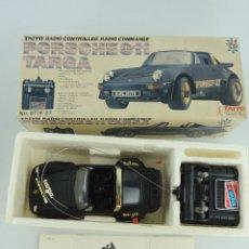 Radiocommande: COCHE RADIOCONTROL TAIYO, PORSCHE 911 TARGA. Lote 247520205