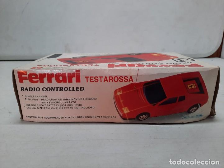 Radio Control: FERRARI TESTAROSSA RADIO CONTROL TIPO RICO PAYA FUNCIONANDO!! - Foto 15 - 252159880