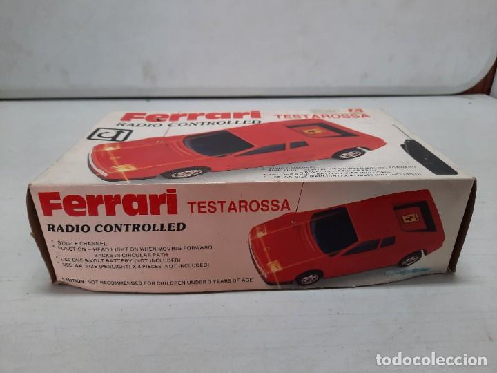 Radio Control: FERRARI TESTAROSSA RADIO CONTROL TIPO RICO PAYA FUNCIONANDO!! - Foto 17 - 252159880