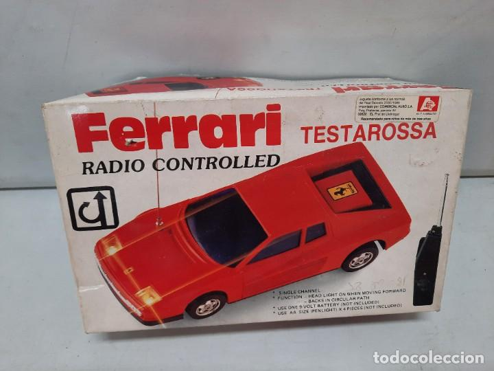 Radio Control: FERRARI TESTAROSSA RADIO CONTROL TIPO RICO PAYA FUNCIONANDO!! - Foto 18 - 252159880