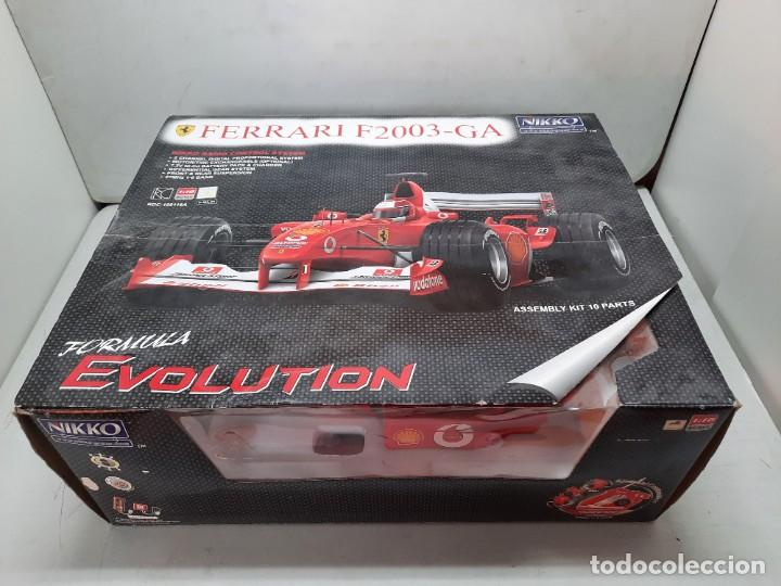 Radio Control: FERRARI F2003- GA FORMULA EVOLUTION NIKKO PRECINTADO NUEVO A ESTRENAR!! - Foto 5 - 252171250