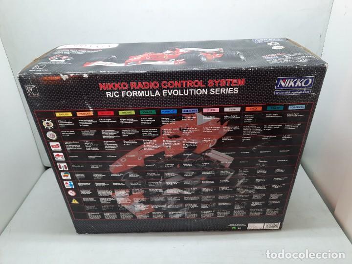 Radio Control: FERRARI F2003- GA FORMULA EVOLUTION NIKKO PRECINTADO NUEVO A ESTRENAR!! - Foto 9 - 252171250