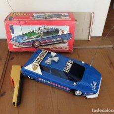 Radio Control: COCHE DE POLICÍA NAVAJO RADIO CONTROL JOUSTRA 5013, CON SU CAJA. Lote 253635515