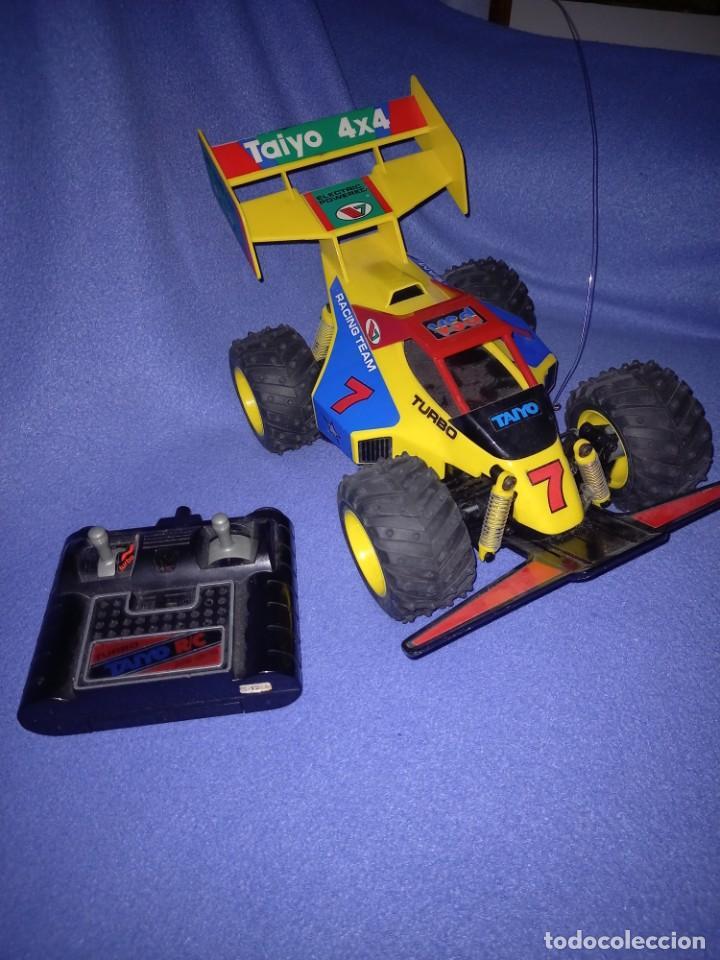 COCHE RADIOCONTROL 4X4 CASA TAIYO AÑOS 80/90 (Juguetes - Modelismo y Radiocontrol - Radiocontrol - Coches y Motos)