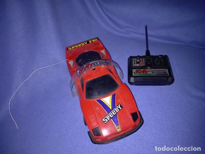 COCHE RADIOCONTROL FERRARI F40 AÑO 1989 (Juguetes - Modelismo y Radiocontrol - Radiocontrol - Coches y Motos)