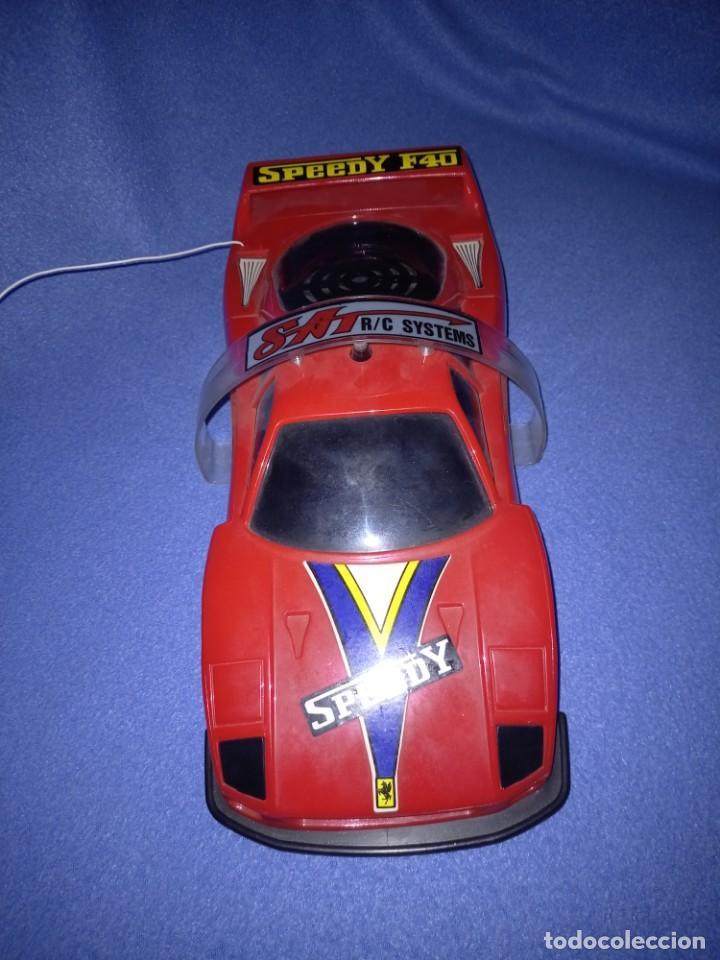 Radio Control: Coche radiocontrol Ferrari F40 año 1989 - Foto 2 - 254810940