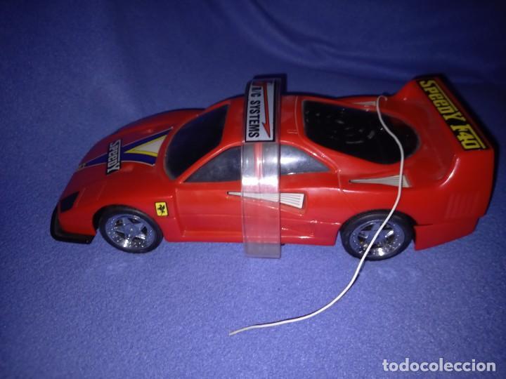 Radio Control: Coche radiocontrol Ferrari F40 año 1989 - Foto 4 - 254810940