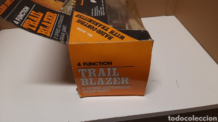 Radio Control: TRAIL BLAZER RADIO CONTROL AÑOS 70/80 RARO MODELO - Foto 3 - 257409395