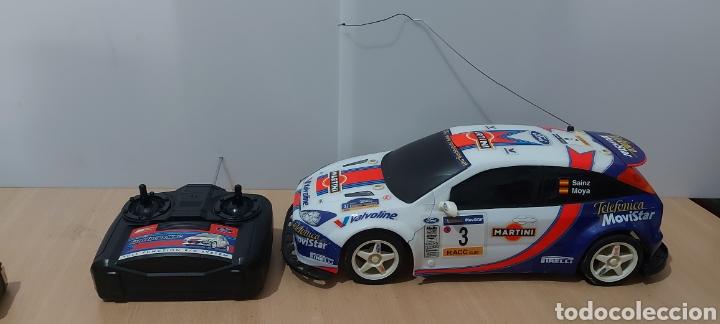 GRAN COCHE RADIO CONTROL DE 43 CMS. (ESCALA 1:10) FORD FOCUS WRC DE MRC CON BATERÍA (Juguetes - Modelismo y Radiocontrol - Radiocontrol - Coches y Motos)