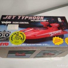 Radio Control: HOVERCRAFT TAIYO JET TYPHOON. Lote 263124185