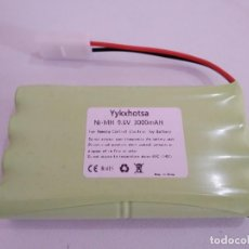 Radio Control: PACK DE BATERIA 9.6 VOLTS NI-MH CONECTOR TAMIYA. Lote 263158890