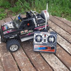 Radio Control: SUZUKI VITARA RADIO CONTROL DE TAIYO MADE IN SINGAPORE. Lote 263163280