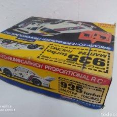 Radio Control: PORCHE RC JAPONES. Lote 266762263