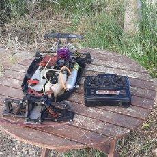 Radiocommande: CHASIS CON MOTOR JET 21 RADIO CONTROL. Lote 267476879