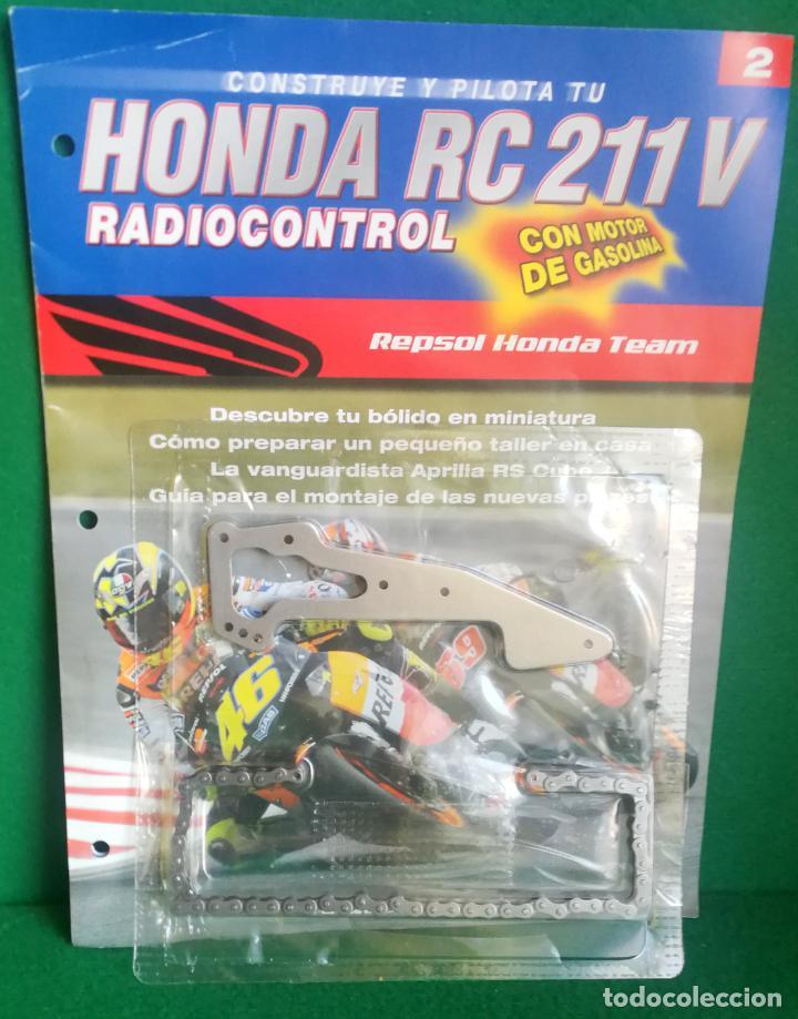 Radio Control: CONSTRUYE Y PILOTA TU HONDA RC 211 V - ESCALA 1/5 - PLANETA DEAGOSTINI - 56 FASCÍCULOS - JYA70 - Foto 25 - 269130918