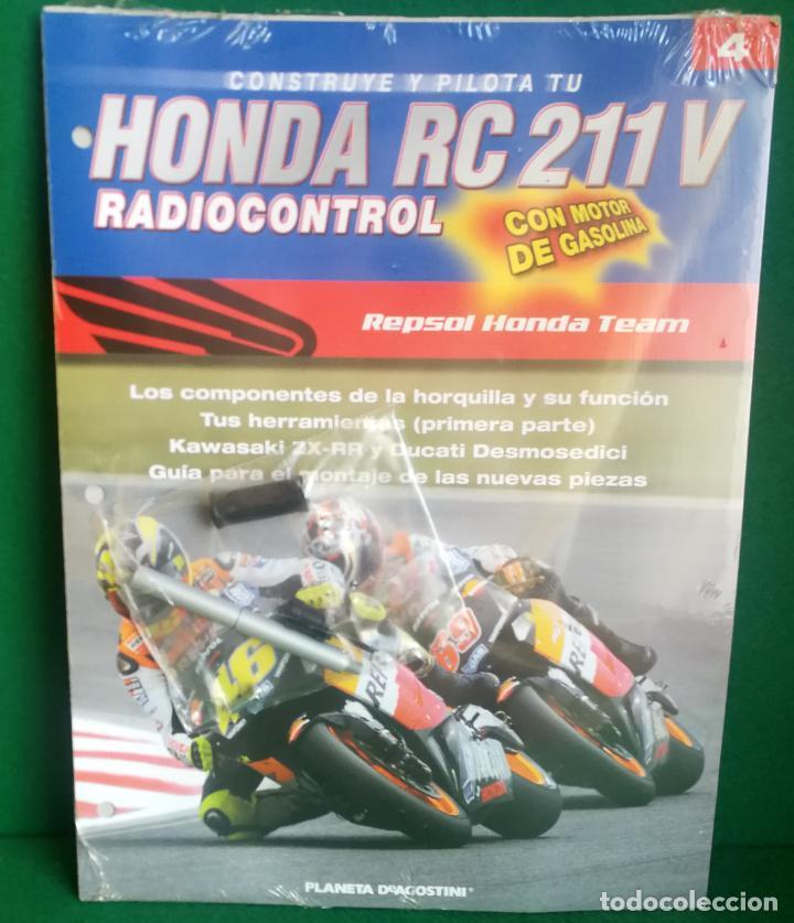 Radio Control: CONSTRUYE Y PILOTA TU HONDA RC 211 V - ESCALA 1/5 - PLANETA DEAGOSTINI - 56 FASCÍCULOS - JYA70 - Foto 27 - 269130918