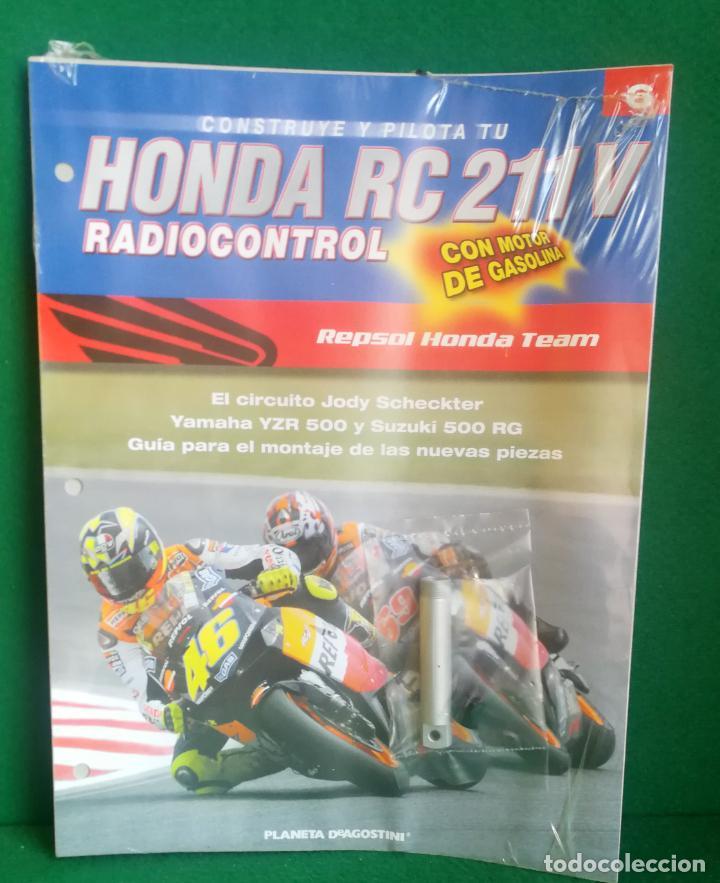 Radio Control: CONSTRUYE Y PILOTA TU HONDA RC 211 V - ESCALA 1/5 - PLANETA DEAGOSTINI - 56 FASCÍCULOS - JYA70 - Foto 29 - 269130918